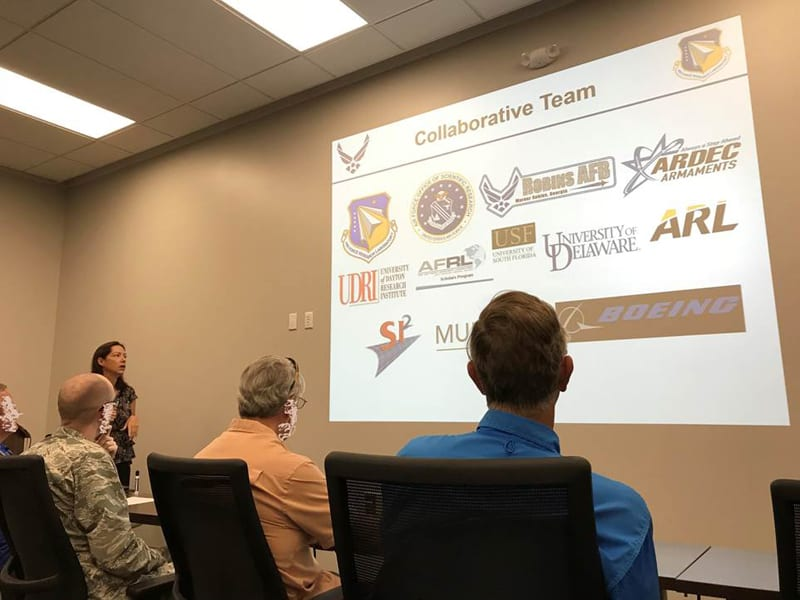 SI2 participating in Technology Sprint the Air Force Research Laboratory Munitions Directorate