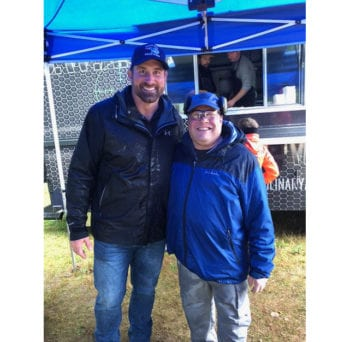 SI2 Founder and CEO with Matt Light, former Patriot number 72 and Light Foundation head